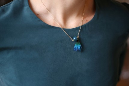 Collier Azurite Malachite