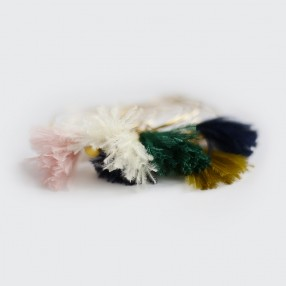 Boucles d'oreilles plumes Sweet Moutarde