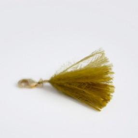 Charm's pompon SWEET plumes d'autruche Moutarde