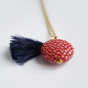 Charm's pompon SWEET plumes d'autruche Bleu