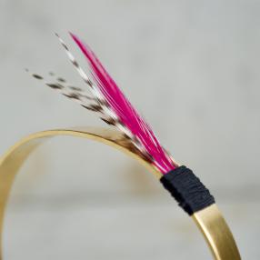 MANCHETTE GRIZZLY Fuchsia